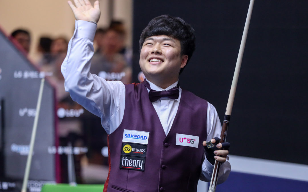 CHO Myung Woo World Champion