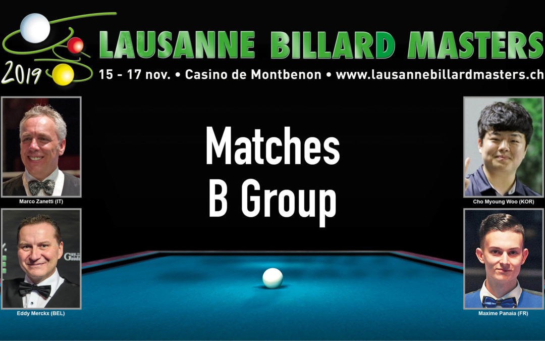 Matches B Group en